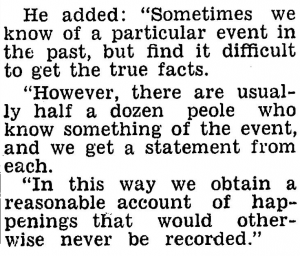 Author Unknown, The Powlett Express, 04/08/1960, p.3.